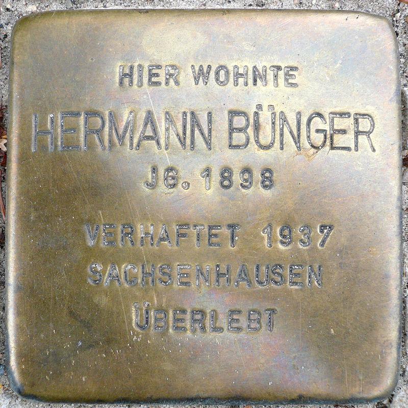 Stolperstein Bremer Straße 57