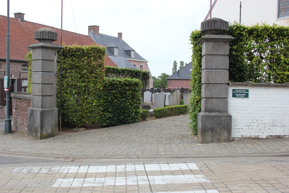 Oorlogsgraven van het Gemenebest Sint-Kornelis-Horebeke