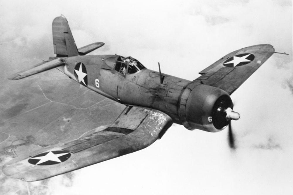 Crashlocatie F4U-1A Corsair 56261 Squadron Number 739