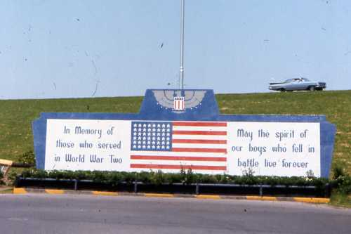 Monument Veteranen Tweede Wereldorlog Greenville
