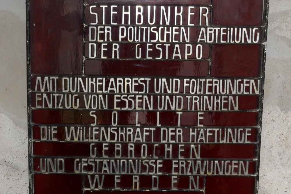 Monument Gestapo-Bunker Concentratiekamp Mittelbau-Dora