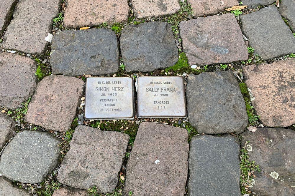Stumbling Stones Ziegelgasse