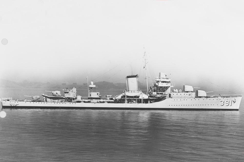 Scheepswrak USS Henley (DD-391)
