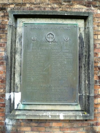 War Memorial Deanston and District