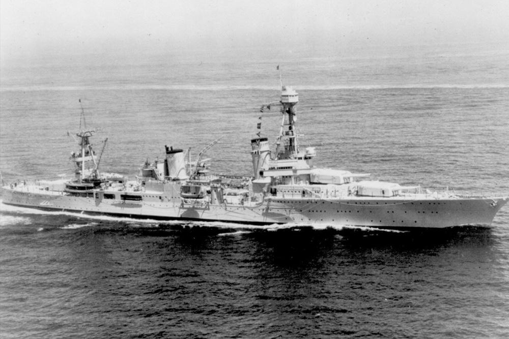 Shipwreck USS Northampton (CA-26)