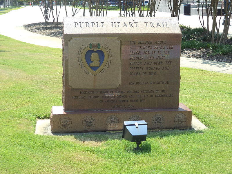 Purple Heart Trail Jacksonville