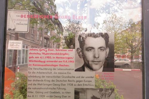 Monument Georg Elser