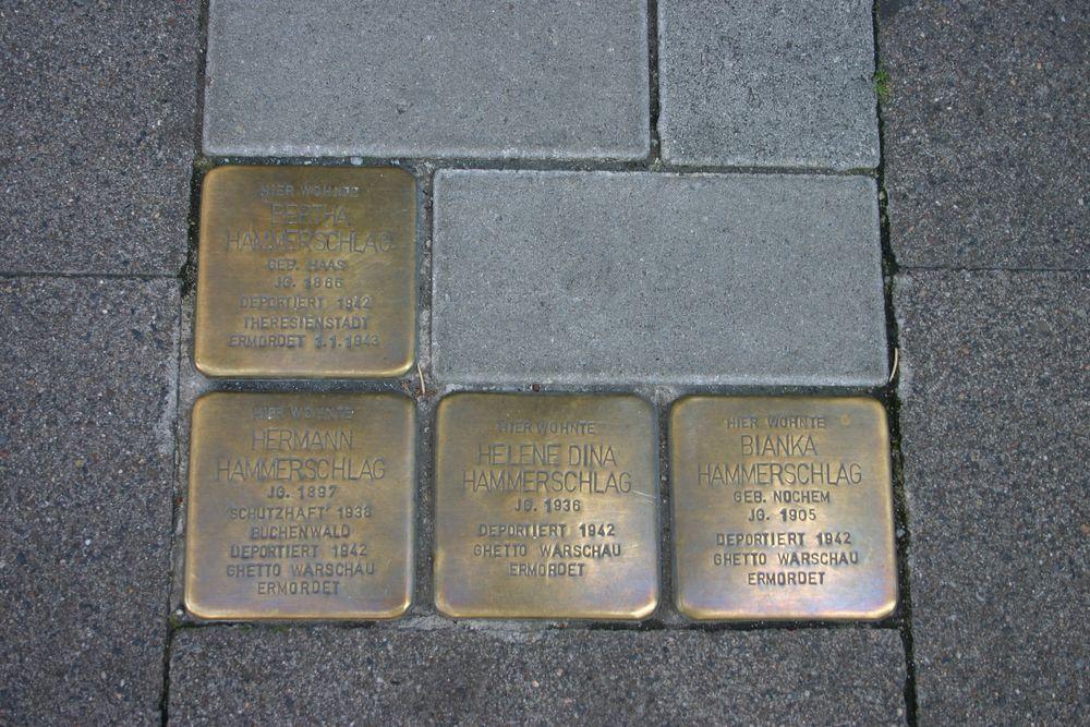 Stumbling Stones Emmernstrasse 28