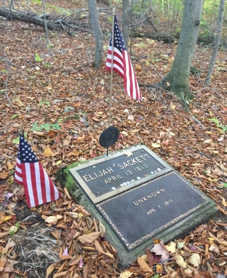 Begraafplaats Soldaten Oorlog van 1812