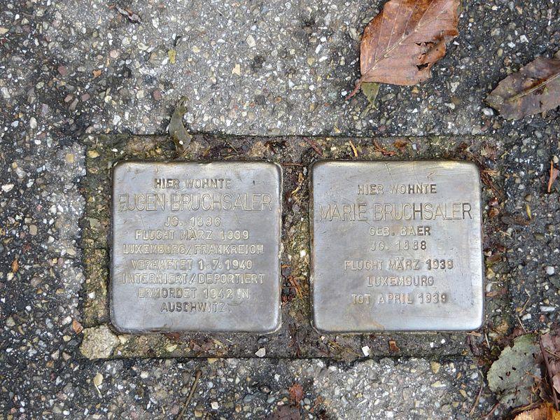 Stumbling Stones Gunzenbachstraße 8