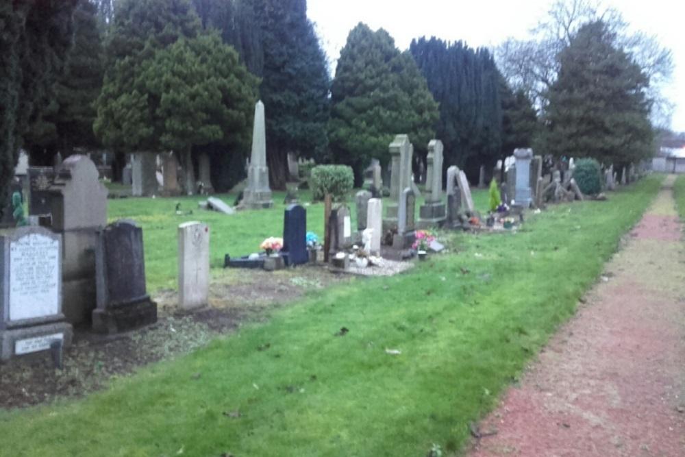 Commonwealth War Graves High Blantyre Cemetery