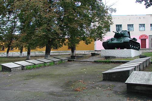Chopovichi Soviet War Cemetery & T-34/67 Tank