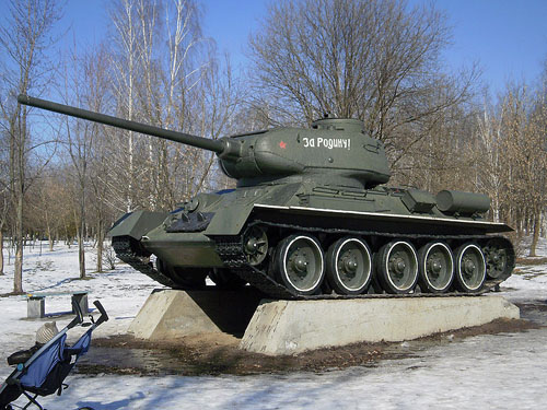 Bevrijdingsmonument (T-34/85) Brovary