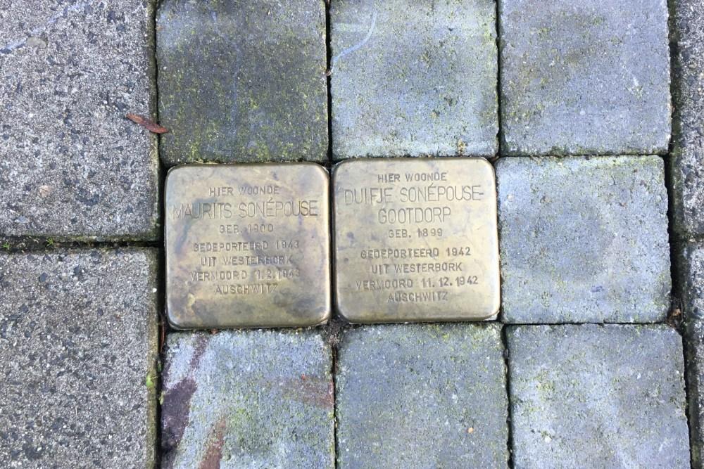 Stumbling Stones Siriusstraat 22