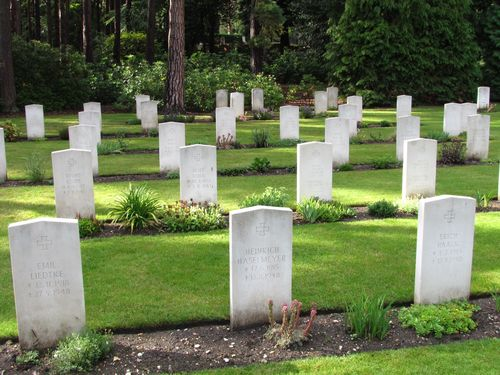 German War Graves Brookwood Military Cemetery