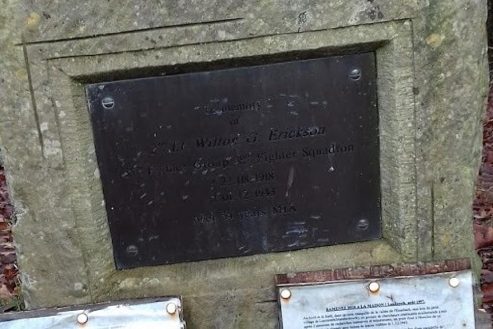 Monument 2Lt Wilton G Erikson