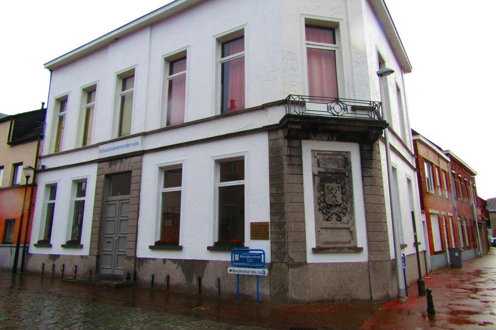 Memorial Sign Liberation Moerbeke