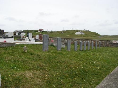 Commonwealth War Graves Cruit Island Catholic Cemetery