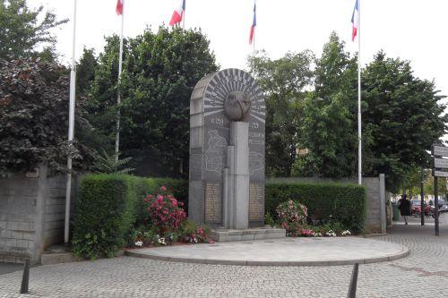 Monument Verzetsstrijders Pont-à-Mousson