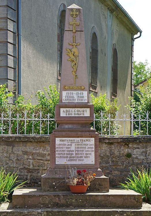 War Memorial Abelcourt