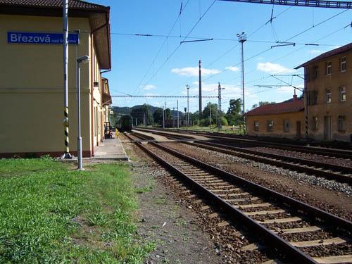 Train Station Březová nad Svitavou