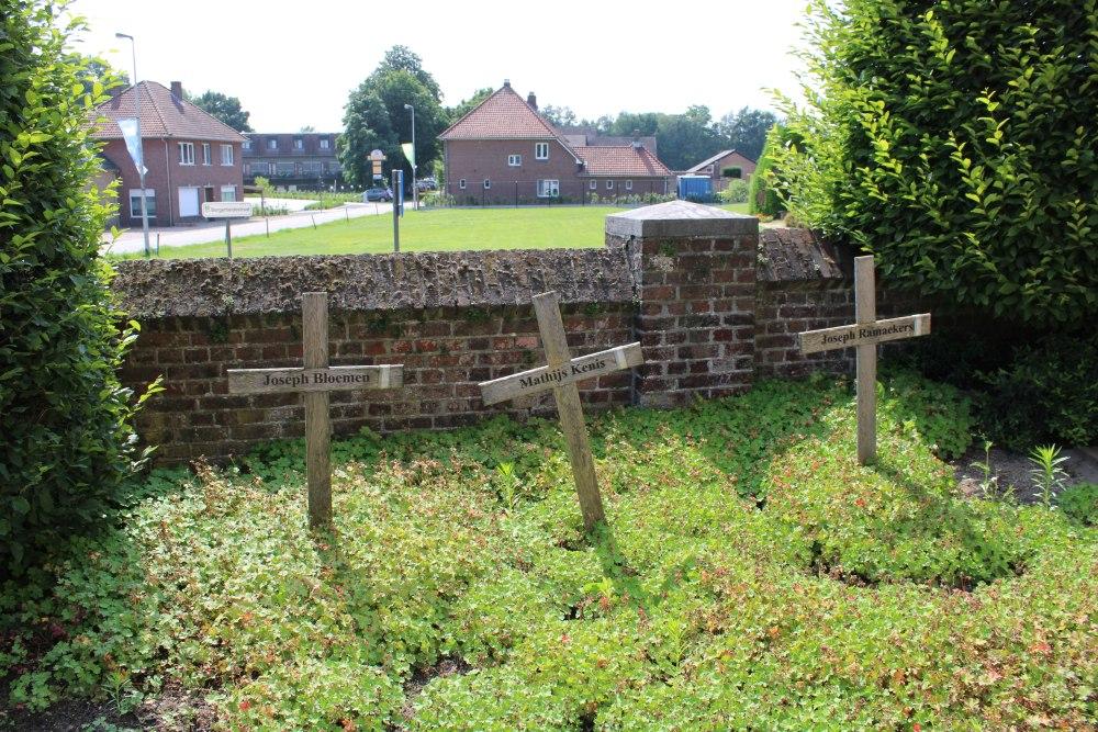 Belgische Oorlogsgraven Reppel
