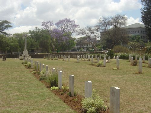 Commonwealth War Graves Nairobi (South Cemetery)