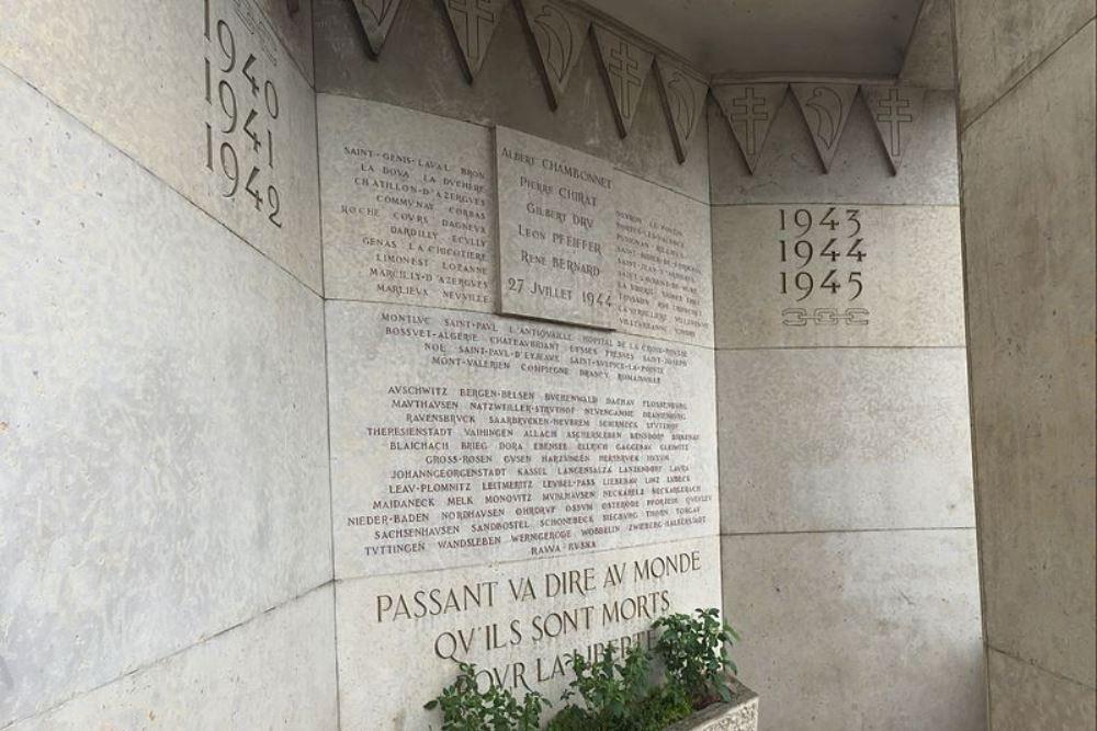 Monument Deportatie 27 Juli 1944