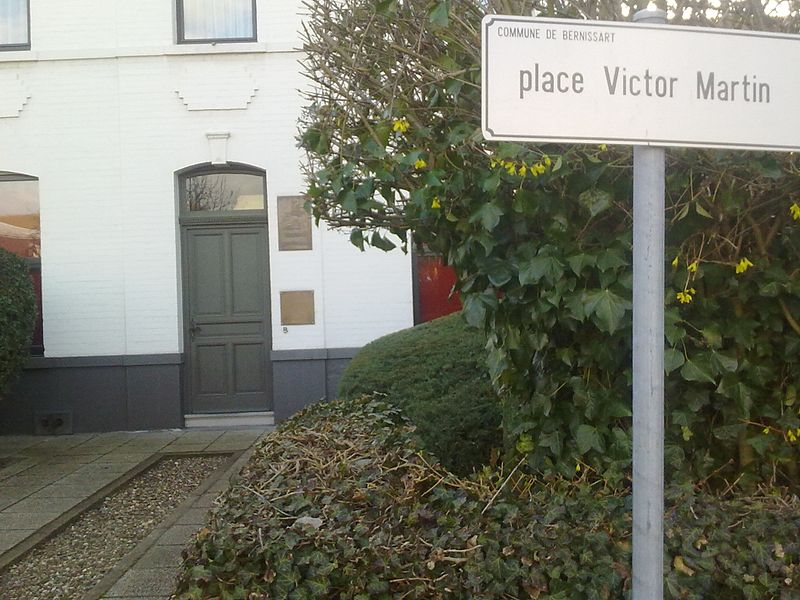 Plaque Victor Martin