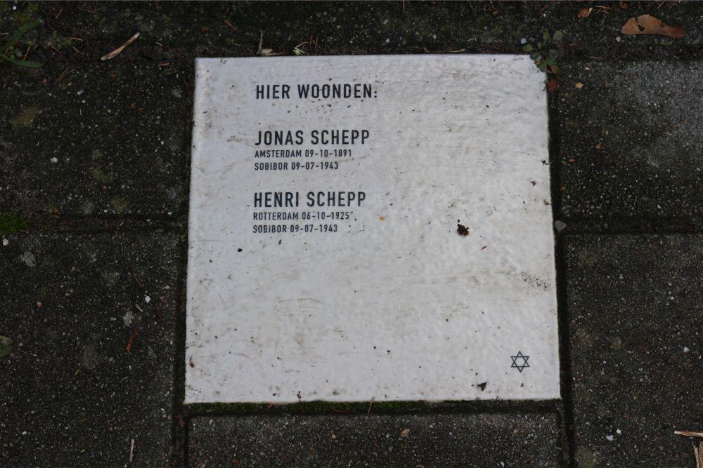 Herdenkingssteen Esschenstraat 85
