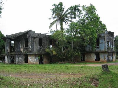 Japanese Command Post Ruins Airai