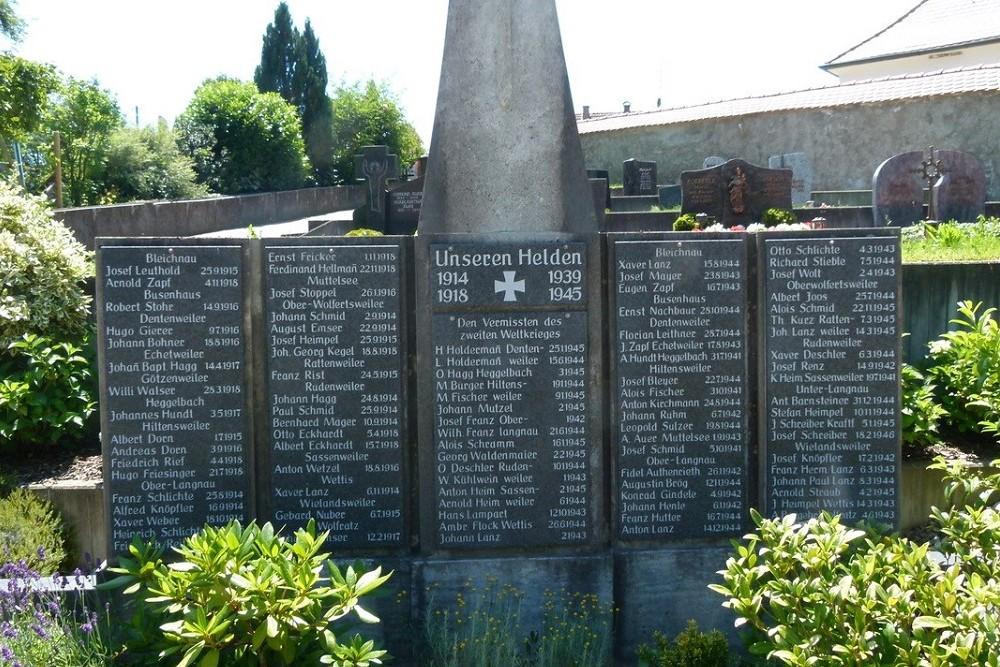 War Memorial Hiltensweiler