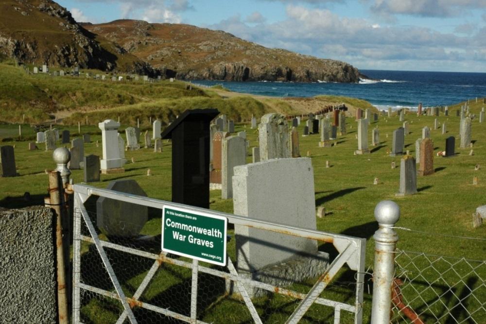 Commonwealth War Graves Dail Mor Cemetery
