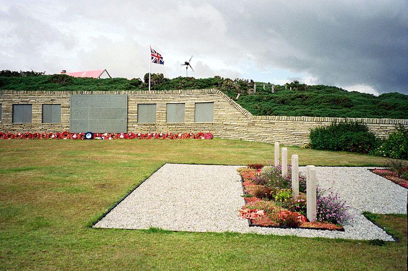Britse Oorlogsbegraafplaats Blue Beach