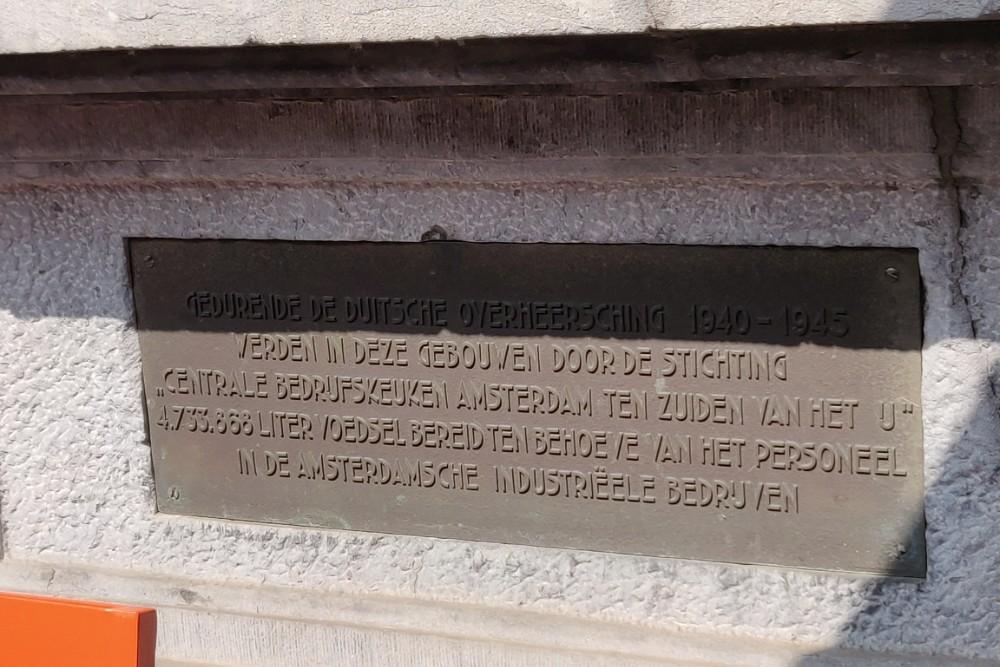 Monument Nieuwezijds Voorburgwal 178-180