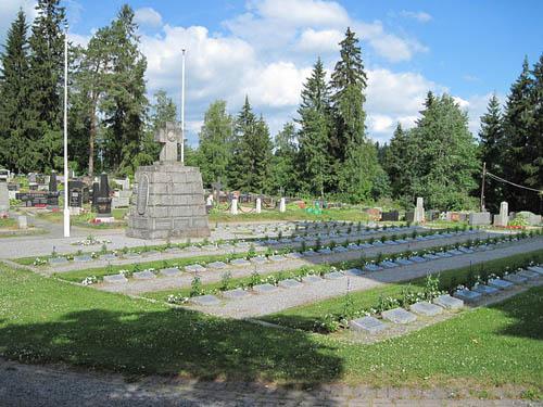 Finse Oorlogsgraven Mouhijärvi