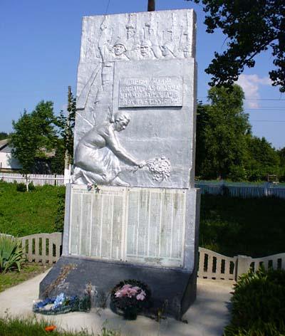 Mass Grave Soviet Soldiers Pavlivka
