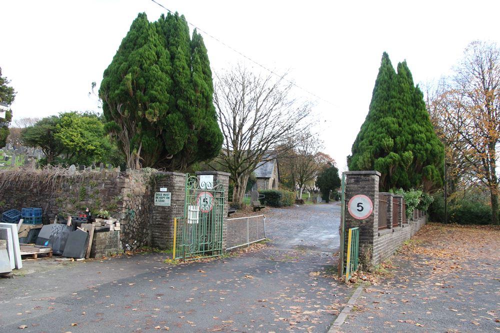 Commonwealth War Graves Maesteg Cemetery