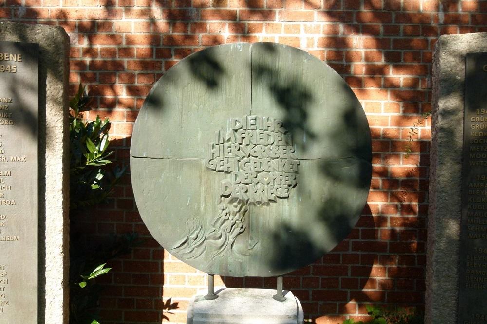 War Memorials WW1 And WW2 Aulendorf