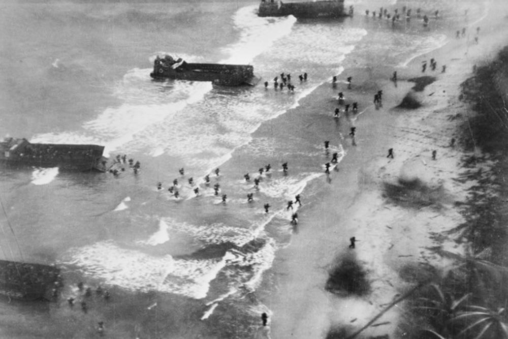 Invasion Beach Dove Bay