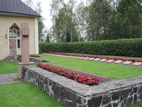 Finse Oorlogsgraven Merijärvi