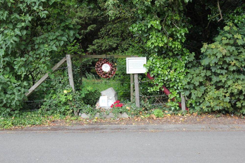 Remembrance Stone Major Hugh Lister