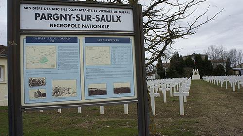Franse Oorlogsbegraafplaats Pargny sur saulx