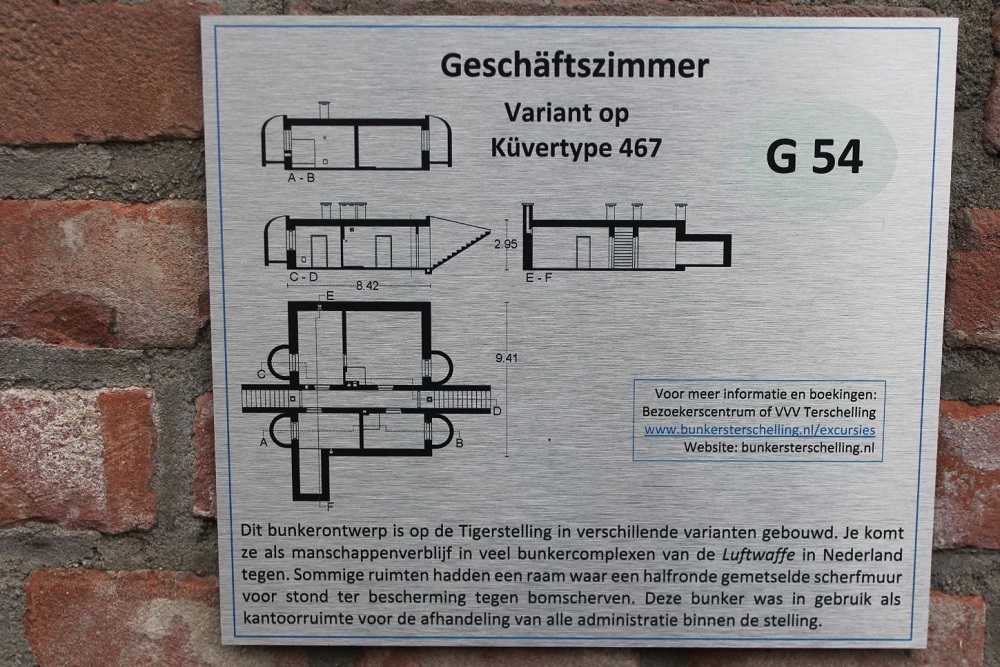 Duitse Radarstelling Tiger - Küvertype 467 Variant Geschäftszimmer