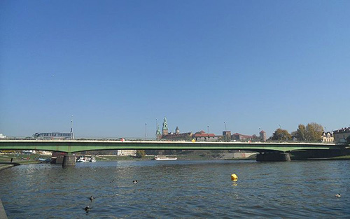 Debnicki Bridge Krakow