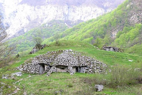 Alpine Wall - Fortifications Planino Polog