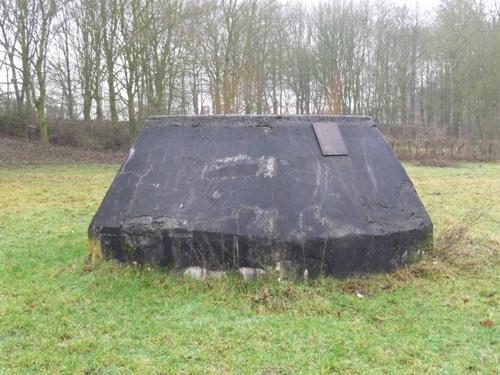 Fundament Duitse Würzburg-Riese Radar