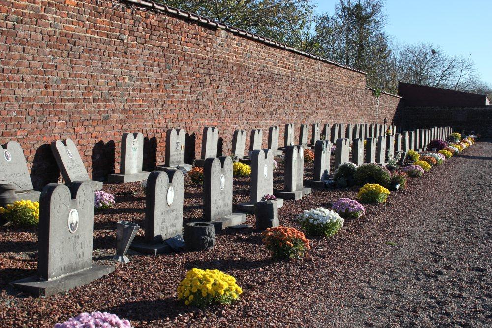 Veteran War Graves Rebecq-Rognon