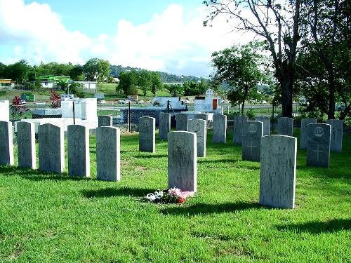 Oorlogsgraven van het Gemenebest Choc Bay
