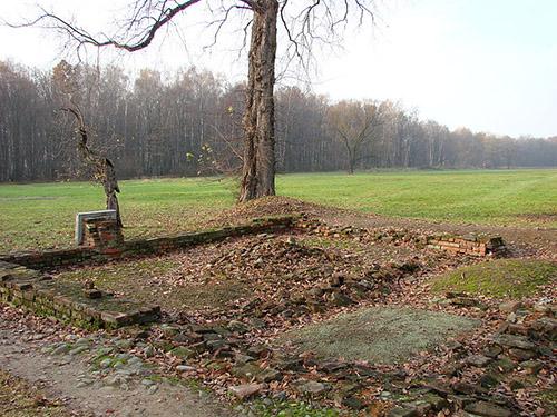 Restant Tijdelijke Gaskamer Auschwitz-Birkenau